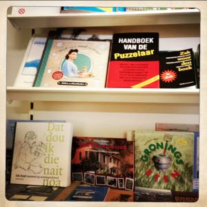 Kruidnotenboek in boekhandel Wichers