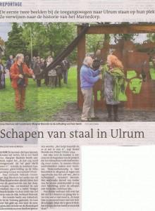 23 okt 2015 dagblad van het noorden onthulling beelden ulrum